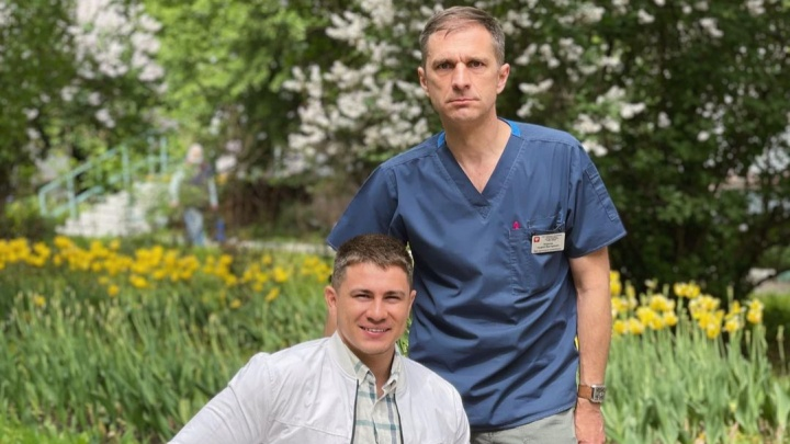 Лишившийся ног в армии уфимец Рустам Набиев встретился с врачом, который спас ему жизнь