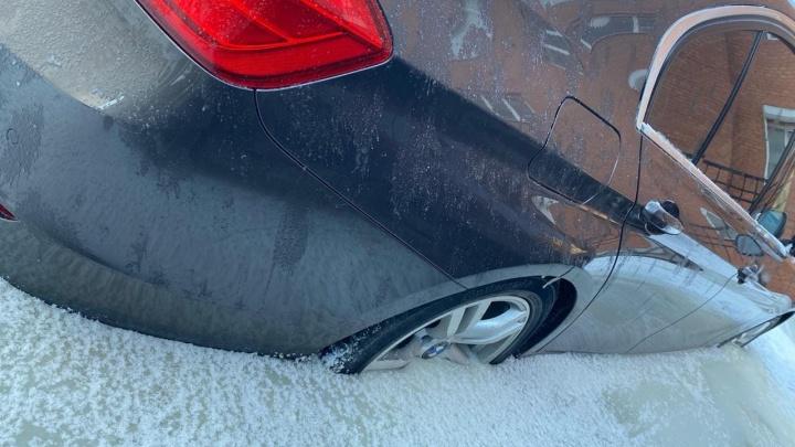 Машины вмерзли по самый бампер: как еще аномальные холода отразились на жизни самарцев