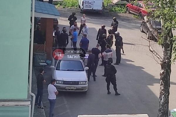 В операции участвовали бойцы Росгвардии, УФСБ и полиция