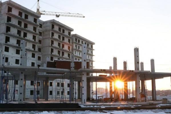 Первые дома в этом микрорайоне должны быть сданы в 2021 году