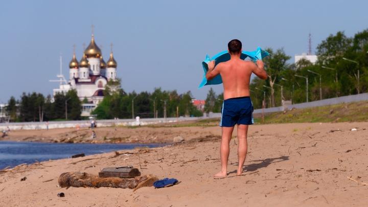 Аномальная жара в Архангельской области закончится на выходных: на регион надвигается циклон