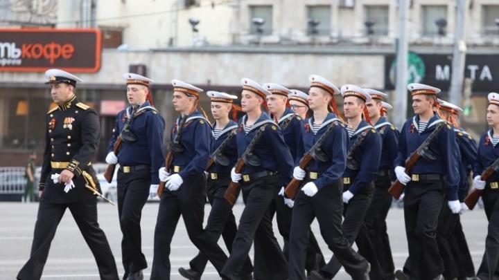 В Ростове перекроют улицы из-за репетиции парада Победы
