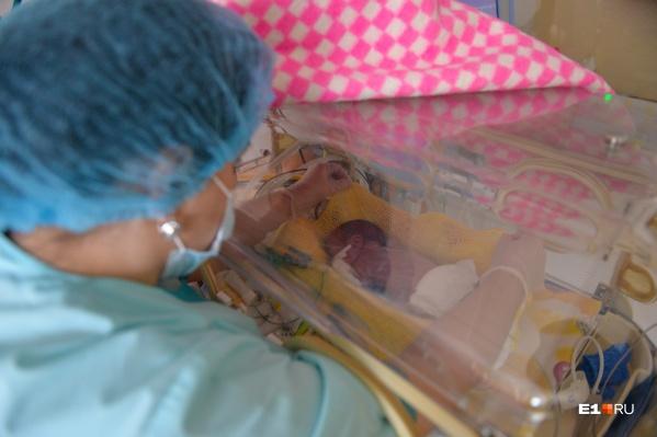 В перинатальном центре выхаживают недоношенных младенцев и принимают рожениц, за которыми нужен особый медицинский надзор