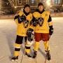 Детдомовец из Горнозаводска сыграл с губернатором Прикамья в хоккей на Красной площади