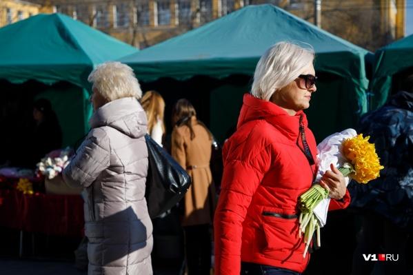 Волгоградские статистики посчитали стоимость самых «ходовых» букетов