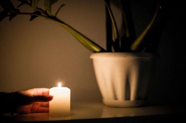 Электричество отключили в 726 домах