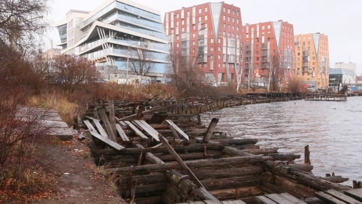 В Архангельске благоустроят набережную за Молодежным сквером: что там будет