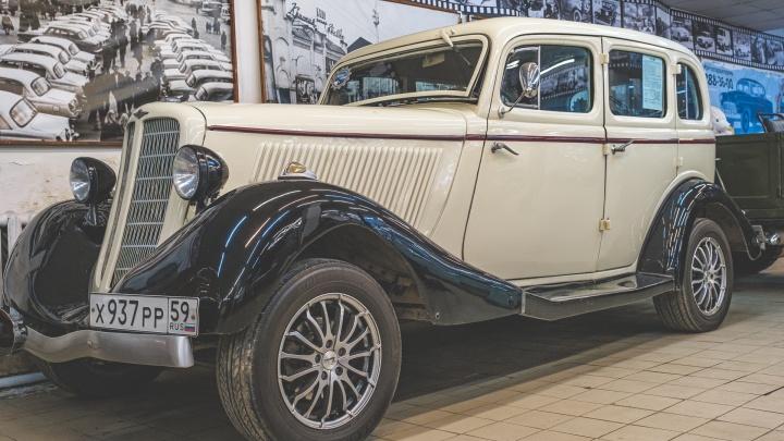 По пермским улицам пройдет автопробег музея «Ретро-Гараж». Мы покажем его в прямом эфире