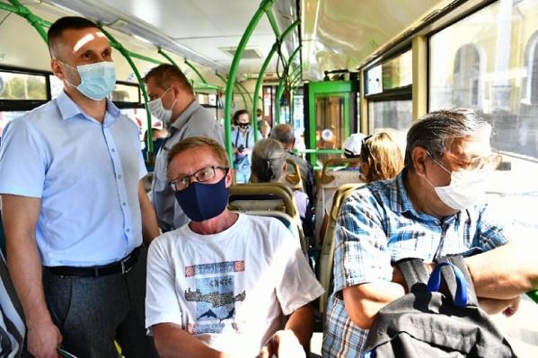 """Ездить в общественном транспорте без маски на лице запрещено с <nobr class=""""_"""">16 мая</nobr> <nobr class=""""_"""">2020 года</nobr>"""