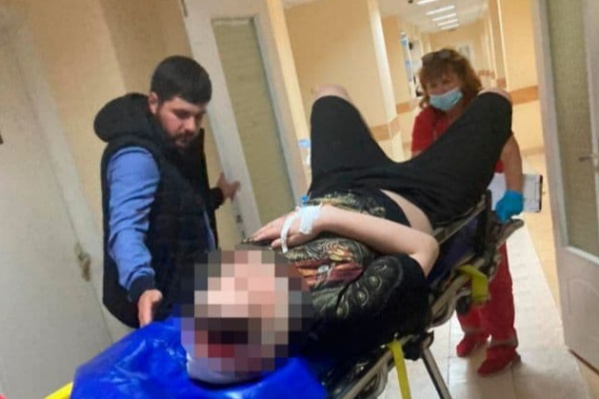 Ребенка доставили в больницу