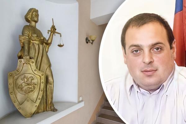 Экс-судья был отстранен от должности в январе 2021 года