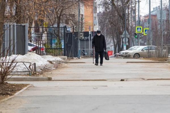 Режим самоизоляции для пожилых людей действует до 31 марта