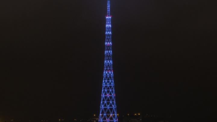 На пермской телебашне покажут световое шоу в честь 90-летия телевидения в России