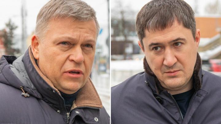 Алексей Дёмкин и Дмитрий Махонин поздравили пермяков с Днем защитника Отечества
