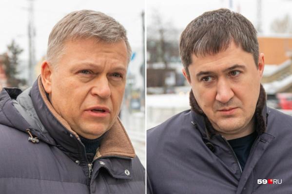 Алексей Демкин и Дмитрий Махонин поздравили пермяков с 23 февраля