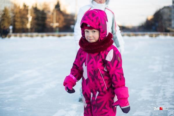 Каток закроют на все морозные дни — с 12 по 14 января