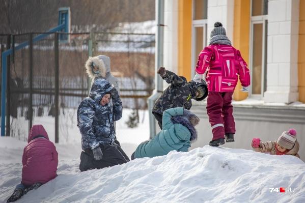 Очные занятия зауральских школьников из-за непогоды отменялись сегодня, 24 февраля<br>