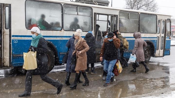 Весна отменяется: на Волгоград обрушились южный циклон и снег с дождями