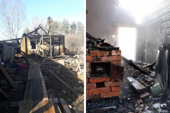 Пожар случился в апреле прошлого года. Погибли два мальчика — 2,5 и 7 лет
