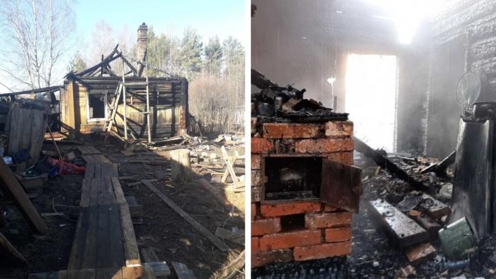 Жителя Сольвычегодска обвиняют в истязании сына и гибели двух детей в пожаре