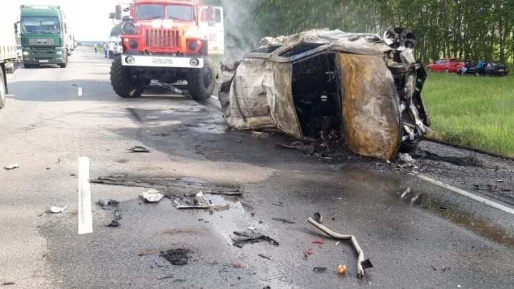 В ГИБДД Башкирии озвучили подробности ДТП с грузовиком и «Ларгусом», в котором погибли шесть человек