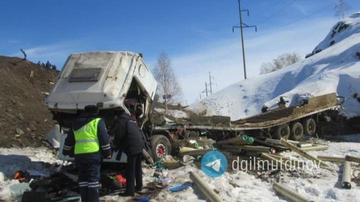 В Башкирии в ДТП с грузовиком погиб житель соседнего региона