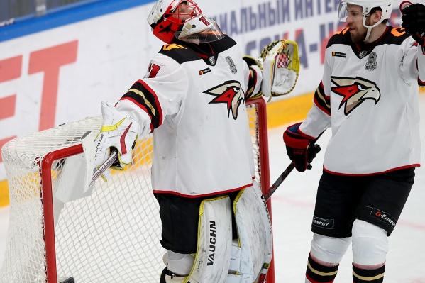 Шимон Грубец благодарит хоккейного бога за четвертый матч «на ноль»