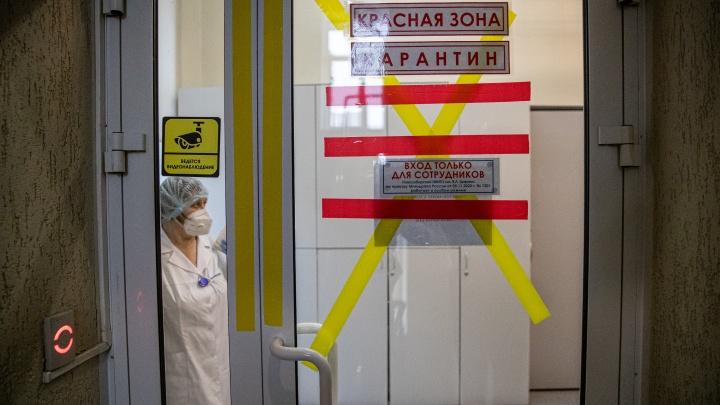 В Новосибирске закрывают ковидарии еще в двух больницах — в регионе занято 56% коек для пациентов с коронавирусом