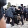 Суды оштрафовали либо отправили под арест как минимум 35 участников протестного шествия в Ростове