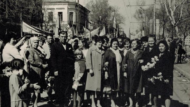 Фотохроника: как отмечали Первомай в Тюмени 60, 50, 40 и 30 лет тому назад