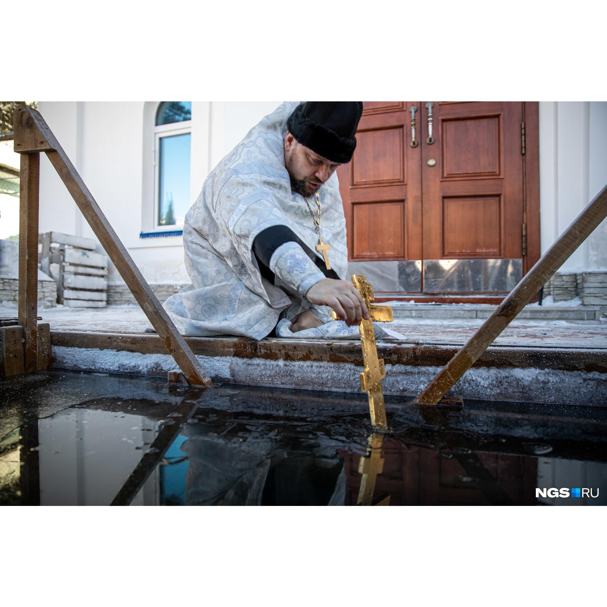 Крещение встречали и в колонии ИК-18