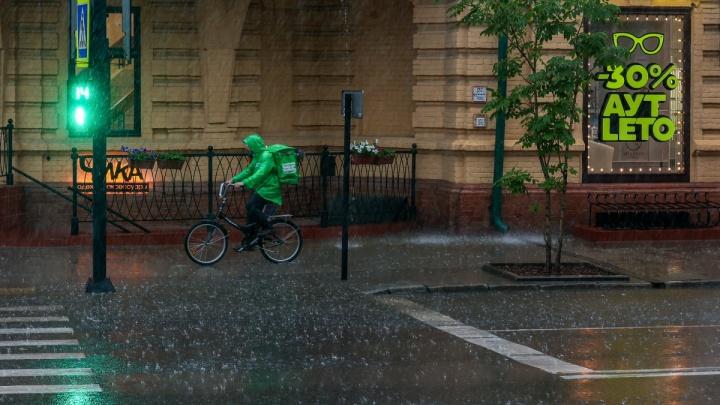 Аналитики данных рассказали, сколько дождливых дней будет в Красноярске в октябре