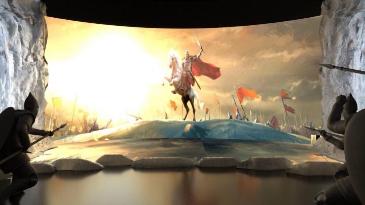 Старинный город и Ледовое побоище своими глазами: в Екатеринбурге откроется супервыставка об Александре Невском