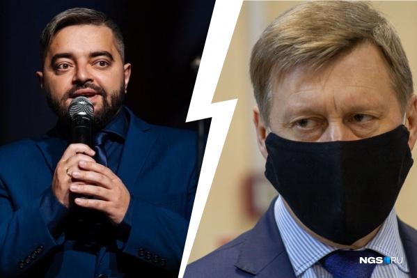 После высказываний на сессиях Игоря Украинцева вызвали на комиссию по этике