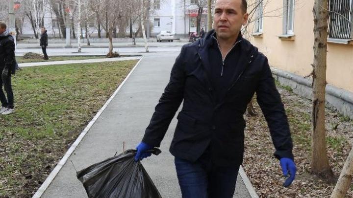 Вадим Шумков попросил зауральцев следить за чистотой вокруг себя