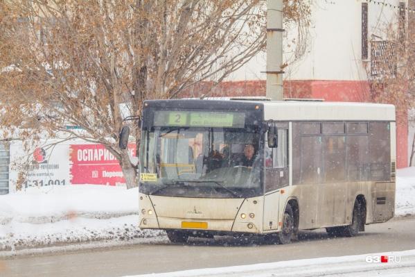 Автобус приказал долго жить прямо посреди дороги