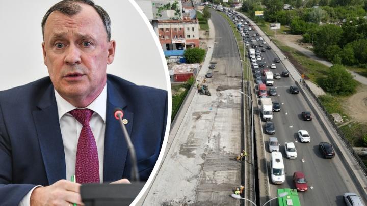 Когда закончатся пробки? Проверяем ремонт мостов с мэром Екатеринбурга Алексеем Орловым