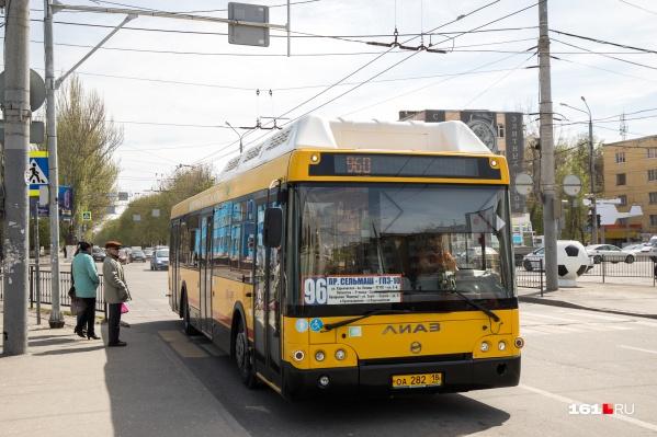 Полосы создадут почти непрерывную возможность движения общественного транспорта