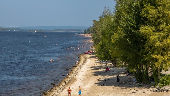 Грозят штрафами: где запрещено купаться на левом берегу Волги в Самаре