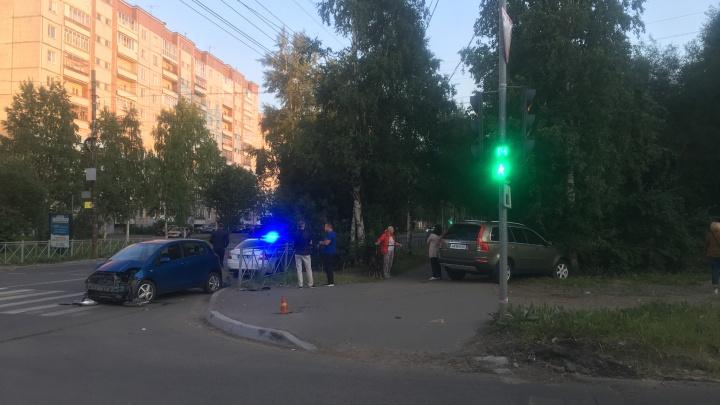 В ДТП в Архангельске пострадала 12-летняя девочка