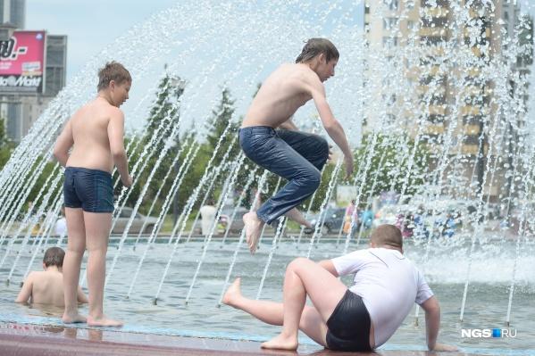 Скорее всего, отключат самые популярные у новосибирцев фонтаны