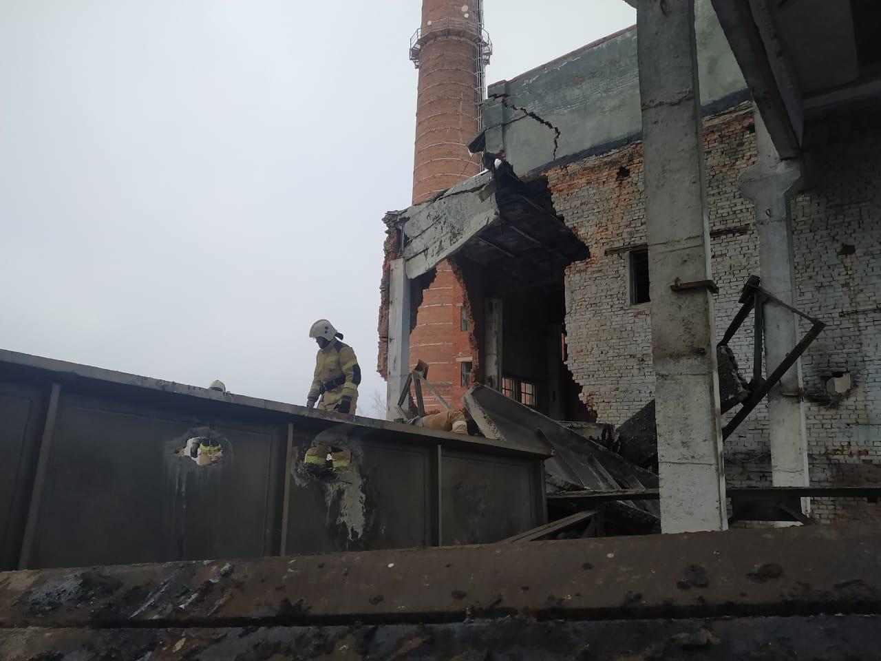 Часть здания всё еще может рухнуть