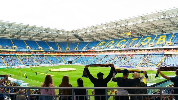 «Ростов-Арена» вошла в пятерку самых посещаемых стадионов мира
