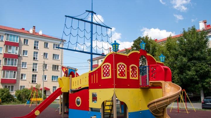 Голые земли и разбросанные куски асфальта: как поменялась Уфа с началом проекта «Башкирские дворики»