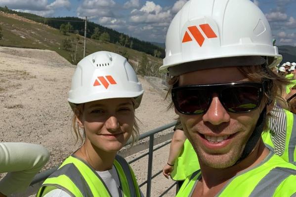 В Сатке Миша Лузин побывал вместе с командой Уральской индустриальной биеннале