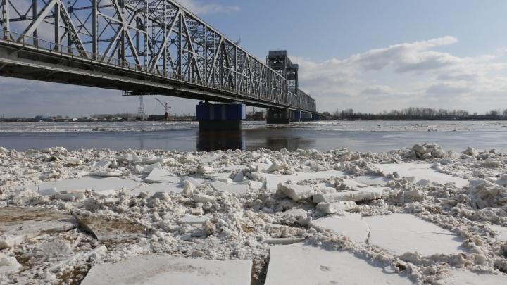 Мосты Архангельска готовят к ледоходу