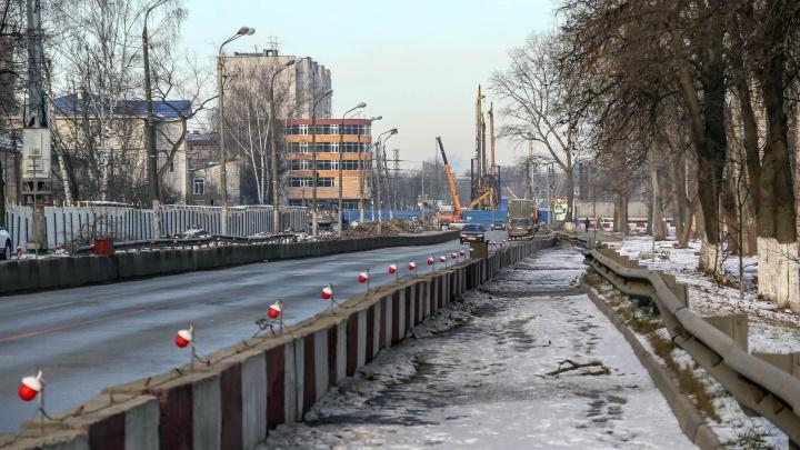 Развязку на Циолковского могут успеть достроить в 2021 году. Но на это нужен дополнительный миллиард