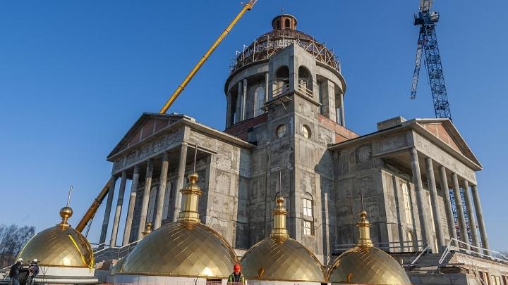 Группа компаний «Ариант» поможет завершить строительство кафедрального собора в Челябинске