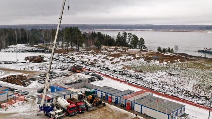 В Красноярском крае ищут вахтовиков для строительства самого северного моста на Енисее