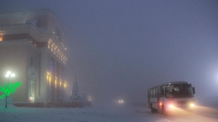Город зимы: 20 леденящих кадров из заснеженного Норильска
